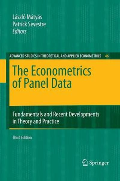 The Econometrics of Panel Data - Laszlo Matyas