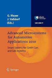 Advanced Microsystems for Automotive Applications 2010 - Gereon Meyer Jurgen Valldorf