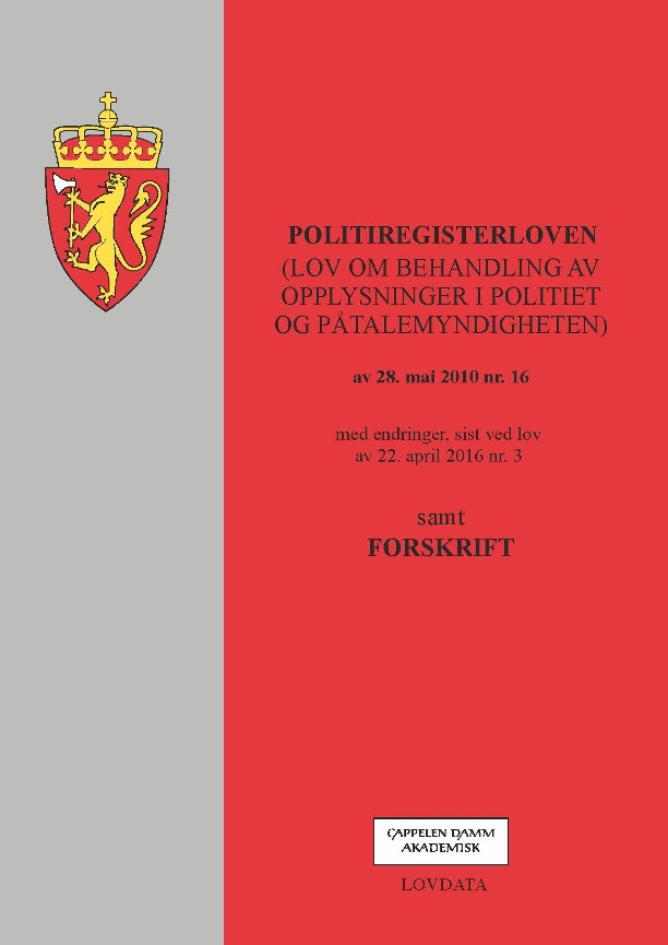Politiregisterloven -