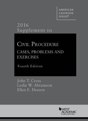 Civil Procedure Supplement, for Use with All Pleading and Procedure Casebooks - Jack Friedenthal