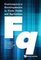 Contemporary Developments In Finite Fields And Applications - Gove Effinger Daniel Panario Leo Storme Anne Canteaut Sophie Huczynska