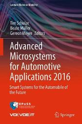 Advanced Microsystems for Automotive Applications 2016 - Tim Schulze Beate Muller Gereon Meyer