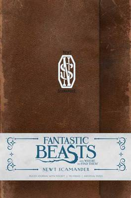 Fantastic Beasts and Where to Find Them: Newt Scamander Hardcover Ruled Journal - Insight Editions