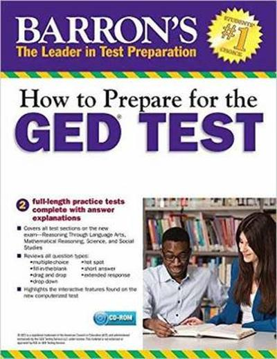 How to Prepare for the GED Test with CD-ROM, 2nd Edition - Christopher Sharpe