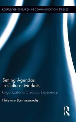 Setting Agendas in Cultural Markets - Philemon Bantimaroudis