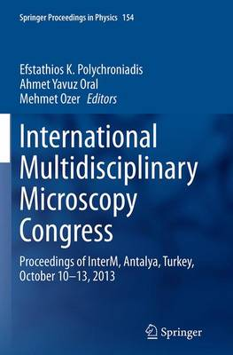 International Multidisciplinary Microscopy Congress - Efstathios K. Polychroniadis