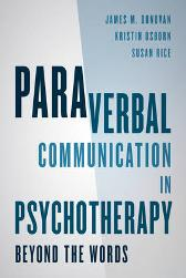 Paraverbal Communication in Psychotherapy - James M. Donovan Kristin A. R. Osborn Susan Rice