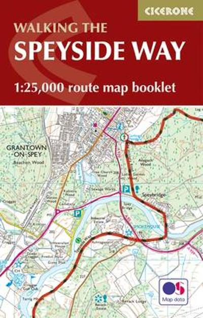 The Speyside Way Map Booklet - Alan Castle