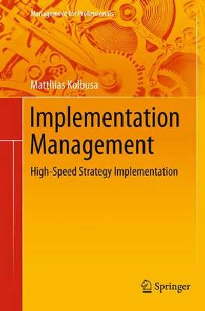 Implementation Management - Matthias Kolbusa