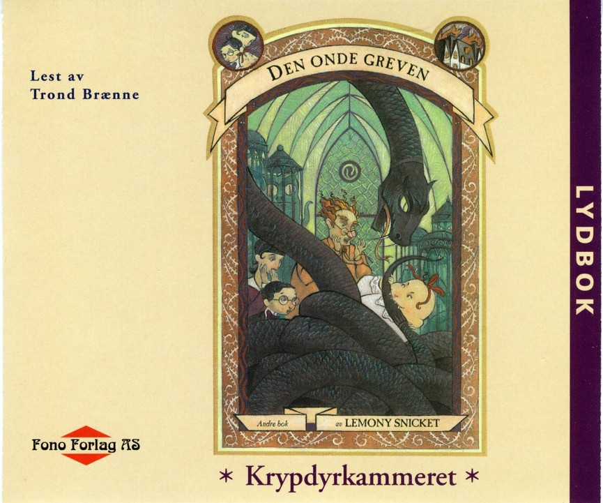 Krypdyrkammeret - Lemony Snicket