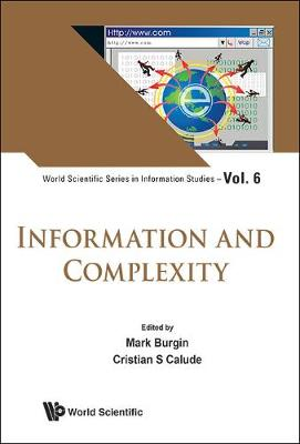 Information And Complexity - Mark Burgin