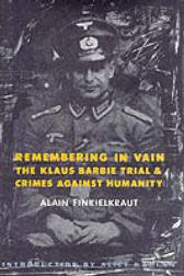 Remembering in Vain - Alain Finkielkraut