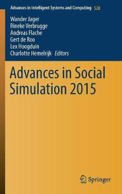 Advances in Social Simulation 2015 - Wander Jager
