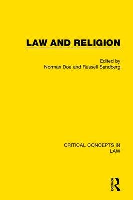 Law and Religion - Norman Doe