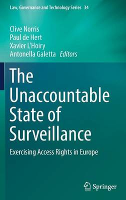 The Unaccountable State of Surveillance - Clive Norris