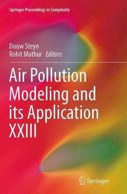 Air Pollution Modeling and its Application - Douw Steyn