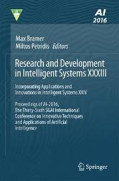 Research and Development in Intelligent Systems XXXIII - Max Bramer Miltos Petridis