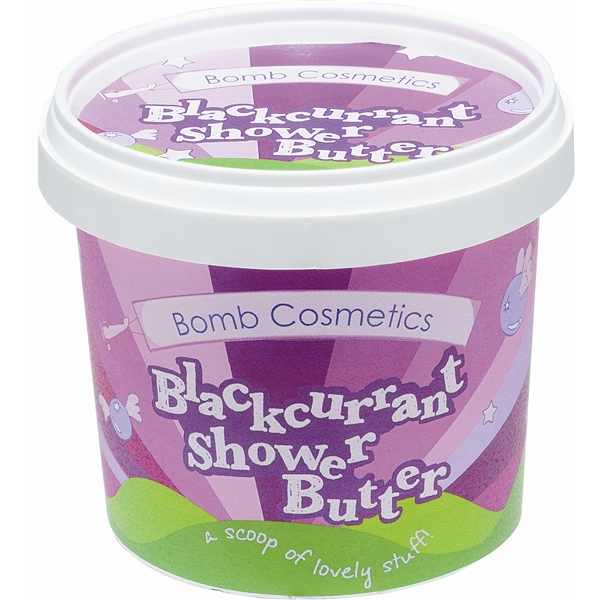 Shower Butter Blackcurrant - Bomb Cosmetics