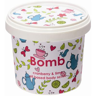 Body Scrub Cranberry & Lime - Bomb Cosmetics