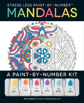 Stress Less Paint-By-Number Mandalas - Jim Gogarty