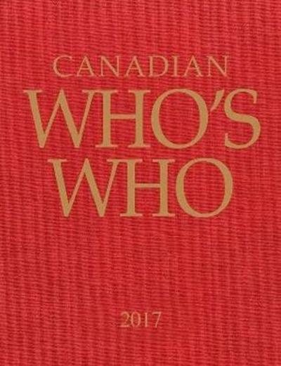Canadian Who's Who 2017 - Grey House Publishing