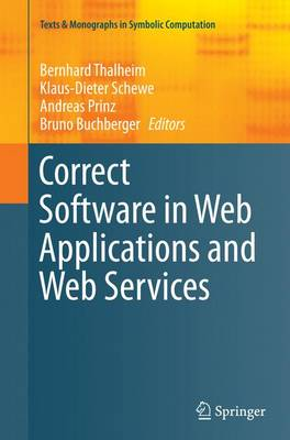 Correct Software in Web Applications and Web Services - Bernhard Thalheim