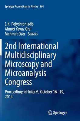 2nd International Multidisciplinary Microscopy and Microanalysis Congress - E. K. Polychroniadis
