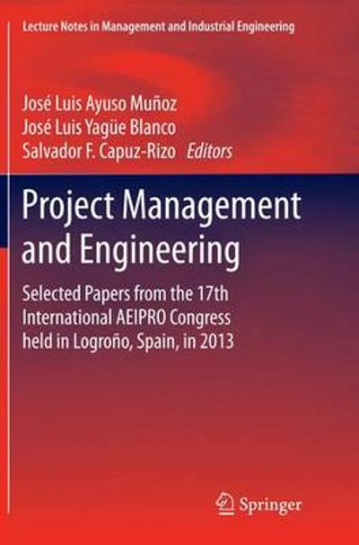 Project Management and Engineering - Jose Luis Ayuso Munoz