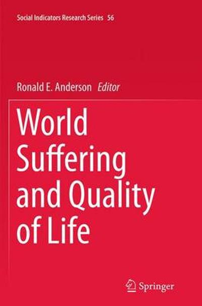 World Suffering and Quality of Life - Ronald E. Anderson