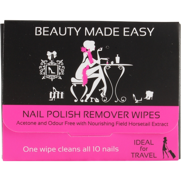 Nail Polish Remover Wipes - Beauty Made Easy