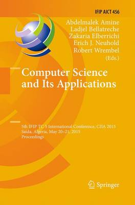 Computer Science and Its Applications - Abdelmalek Amine