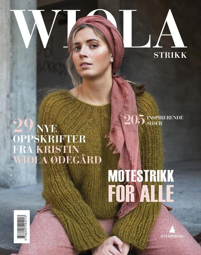 a78fd105 Wiolastrikk - Kristin Wiola Ødegård - Innbundet (9788205494213 ...