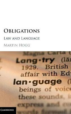 Obligations - Martin Hogg