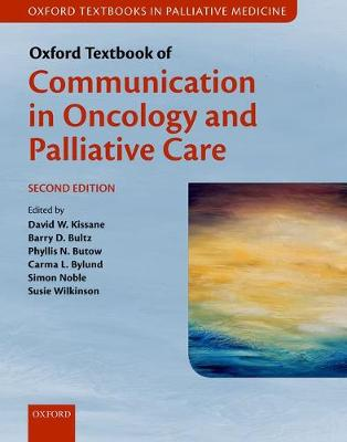 Oxford Textbook of Communication in Oncology and Palliative Care - David W. Kissane