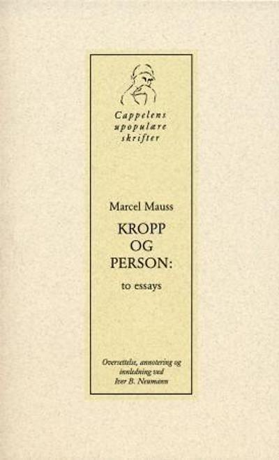 Kropp og person - Marcel Mauss