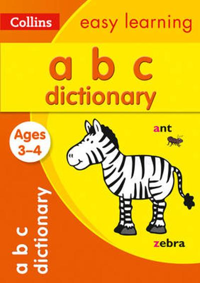 ABC Dictionary Ages 3-4 - Collins Easy Learning
