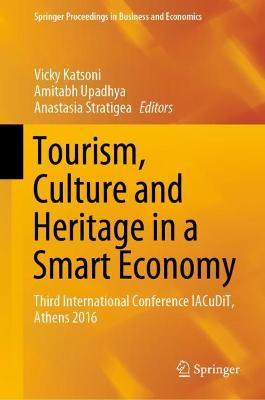 Tourism, Culture and Heritage in a Smart Economy - Vicky Katsoni