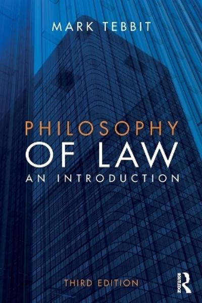 Philosophy of Law - Mark Tebbit