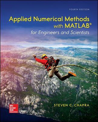 Applied Numerical Methods with MATLAB for Engineers and Scientists - Steven C. Chapra
