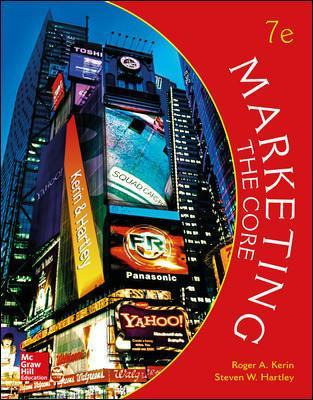 Marketing: The Core - Roger A. Kerin