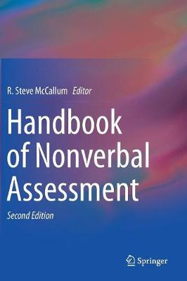 Handbook of Nonverbal Assessment - R. Steve McCallum