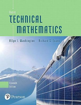 Basic Technical Mathematics - Allyn J Washington