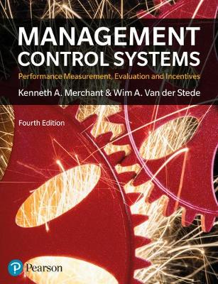 Management Control Systems 4th Edition - Kenneth Merchant
