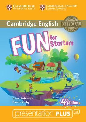 Fun for Starters Presentation Plus DVD-ROM - Anne Robinson