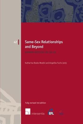 Same-Sex Relationships and Beyond - Katharina Boele-Woelki