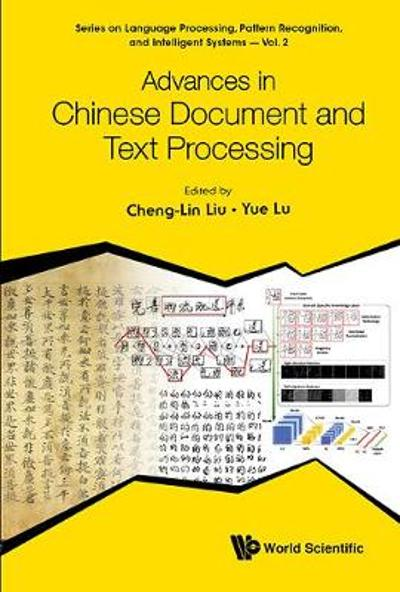 Advances In Chinese Document And Text Processing - Cheng-lin Liu
