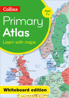 Collins Primary Atlas - Whiteboard Edition - Collins Maps