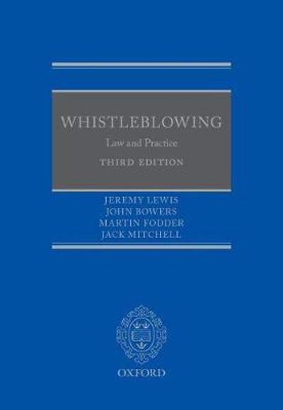 Whistleblowing - Jeremy Lewis