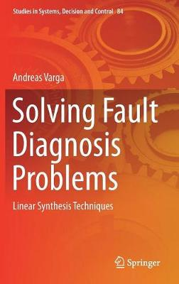 Solving Fault Diagnosis Problems - Andreas Varga