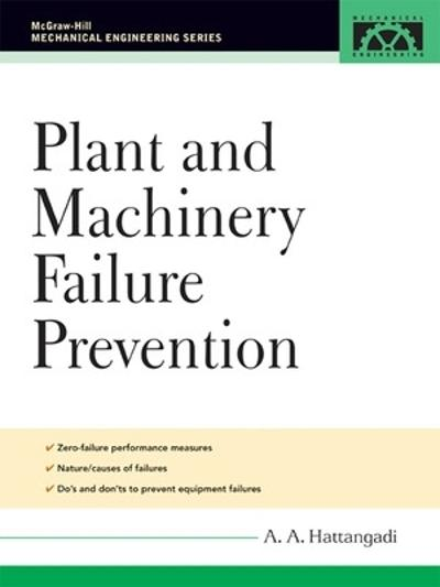Plant and Machinery Failure Prevention - A. A. Hattangadi